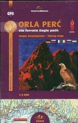 Orla Perć via ferrata Mapa turystyczna 1:5 000