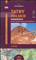 Tatry Polskie kompaktowe Mapa turystyczno-przeglądowa