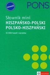 Pons słownik mini hiszpańsko-polski polsko-hiszpański