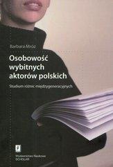 Osobowość wybitnych aktorów polskich