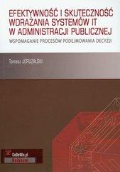 Efektywność i skuteczność wdrażania systemów IT w administracji publicznej