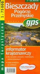 Bieszczady Pogórze Przemyskie mapa turystyczna 1: 75 000
