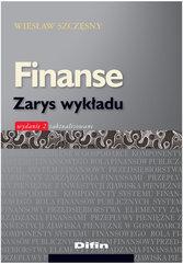 Finanse Zarys wykładu