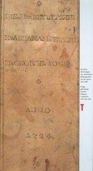 Księga gdańskiego bractwa bułkarzy i ciastkarzy z lat 1724-1768