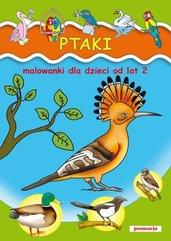 Ptaki Malowanki od lat 2