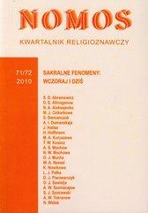 Kwartalnik religioznawczy Nr 71/72 2010