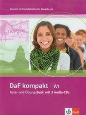 DaF kompakt A1 Kurs- und Ubungsbuch mit 2 Audio-CDs