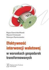 Efektywność interwencji walutowej w warunkach gospodarek transformowanych