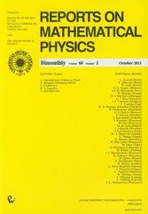 Reports on Mathematical Physics 68/2 Kraj