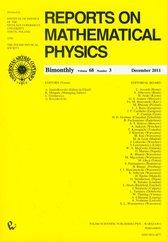 Reports on Mathematical Physics 68/3