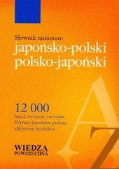 Słownik minimum japońsko-polski polsko-japoński