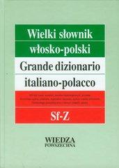 Wielki słownik włosko-polski Tom 4 Sf-Z