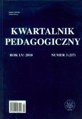 Kwartalnik pedagogiczny nr 3/2010