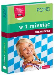 Pons Niemiecki w 1 miesiąc z płytą CD