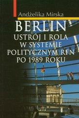 Berlin Ustrój i rola w systemie politycznym RFN po 1989 r.