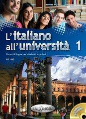 L'italiano all'universita 1 Podręcznik + ćwiczenia + CD audio