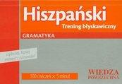 Hiszpański trening błyskawiczny gramatyka