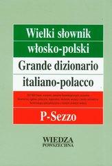 Wielki słownik włosko-polski Tom III P-Sezzo