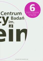 Zeszyty naukowe Centrum Badań im. Edyty Stein 6/2010