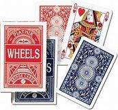Karty do gry Piatnik 1 talia Popularne Wheels