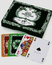 Karty do gry Piatnik 2 talie Liście dębu
