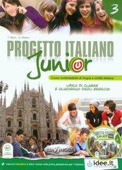 Progetto Italiano Junior 3 Podręcznik z ćwiczeniami z płytą DVD