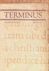 Terminus rocznik XIII 2011 zeszyt 24