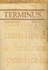 Terminus rocznik XIV 2012 zeszyt 25