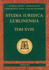 Studia Iuridica Lublinensia Tom XVIII