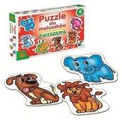 Puzzle dla maluszków Zwierzątka