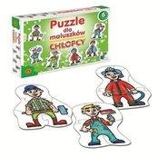 Puzzle dla maluszków Chłopcy