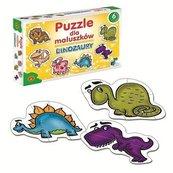 Puzzle dla maluszków Dinozaury