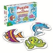 Puzzle dla maluszków Podwodne zwierzęta