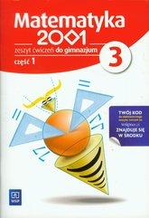 Matematyka 2001 3 Zeszyt ćwiczeń część 1