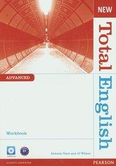 New Total English Advanced Workbook z płytą CD