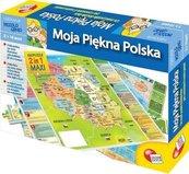 Puzzle Mały geniusz Moja piękna Polska 108