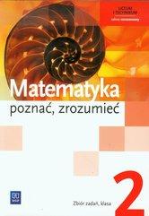 Matematyka poznać zrozumieć 2 Zbiór zadań Zakres rozszerzony