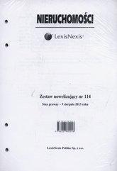 Nieruchomości Zestaw nowelizujący nr 114/2013