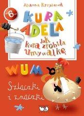 Kura Adela Jak kura zrobiła umywalkę - szlaczki i znaczki