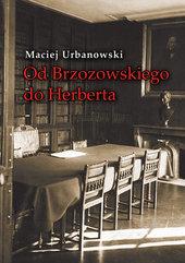 Od Brzozowskiego do Herberta