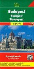 Budapeszt plan miasta 1:27 500