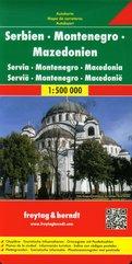 Serbien Montenegro Mazedonien