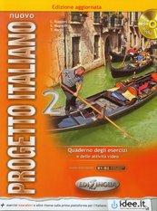 Nuovo Progetto italiano 2 Ćwiczenia + 2CD