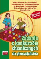 Zadania z konkursów chemicznych dla gimnazjalistów