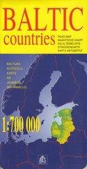 Kraje Bałtyckie mapa 1:700 000