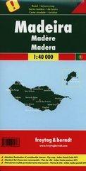 Madera mapa 1:40 000