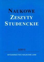 Naukowe Zeszyty Studenckie 5 / 2013