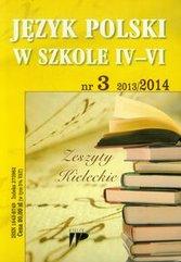 Język Polski w Szkole 4-6 numer 3 2013/2014