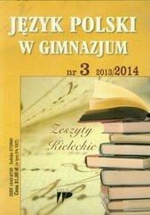 Język Polski w Gimnazjum numer 3 2013/2014
