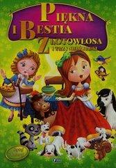 Czytaj i koloruj Piękna i Bestia Złotowłosa i trzy niedźwiadki